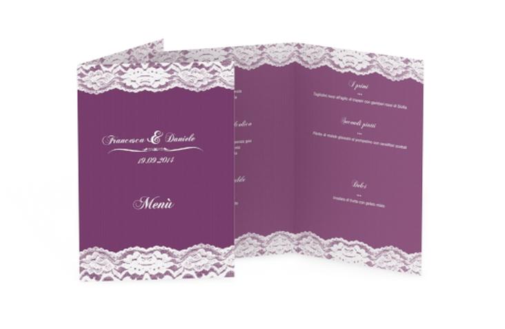 Menù matrimonio collezione Montreux DIN A5 geklappt
