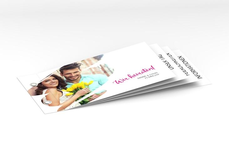 """Hochzeitseinladung """"Felice"""" Booklet"""
