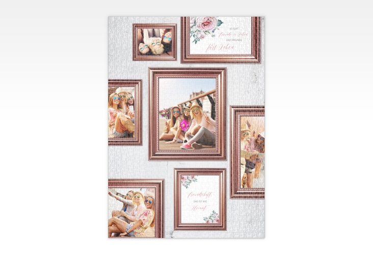 """Fotopuzzle 1000 Teile """"Photowall"""" 1000 Teile weiss"""