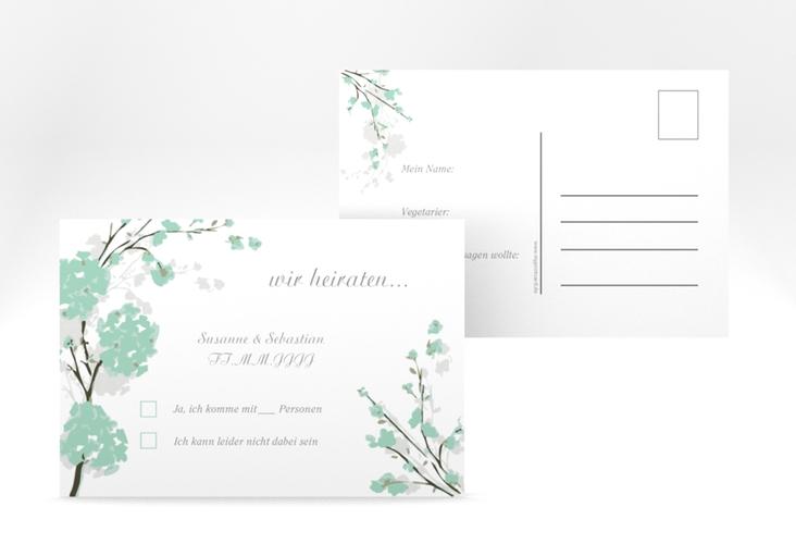 """Antwortkarte Hochzeit """"Salerno"""" A6 Postkarte"""