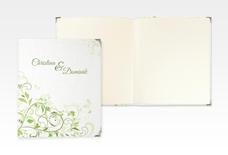 """Hochzeitsalbum """"Lilly"""" 21 x 25 cm gruen"""
