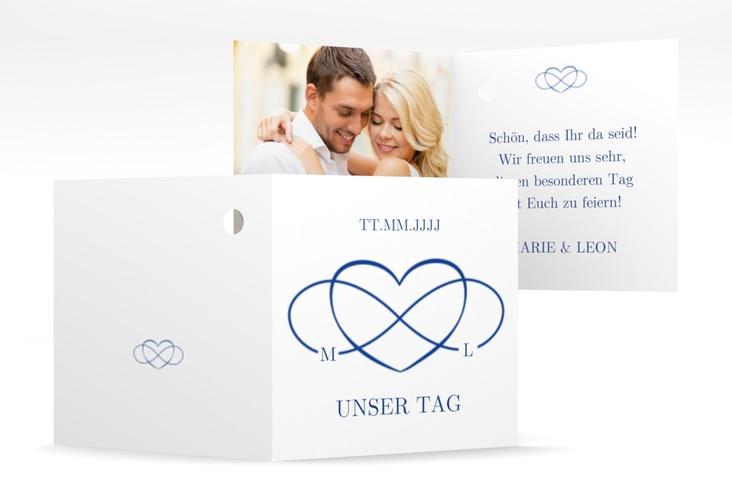 """Geschenkanhänger Hochzeit """"Infinity"""" Geschenkanhänger 10er Set"""