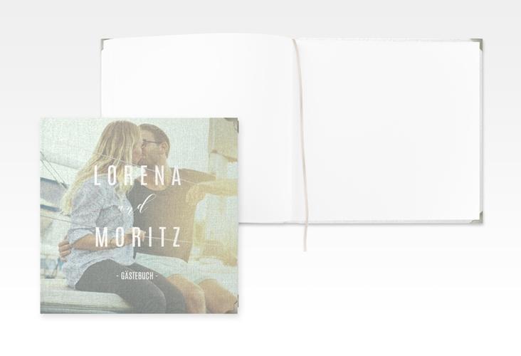 "Gästebuch Selection Hochzeit ""Memory"" Leinen-Hardcover mint"
