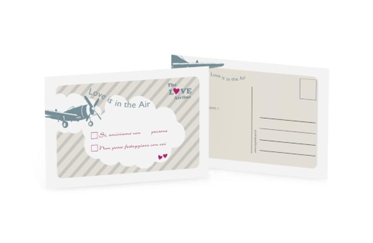 Biglietti risposta matrimonio collezione Teneriffa A6 Postkarte