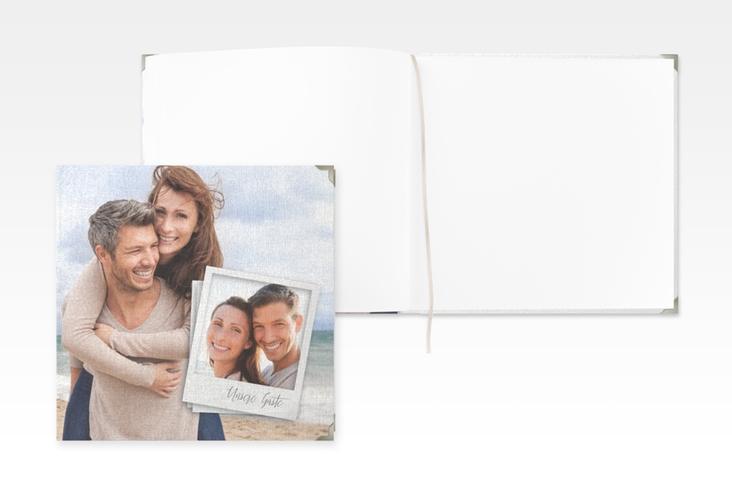 """Gästebuch Selection Hochzeit """"Portrait"""" Leinen-Hardcover weiss"""