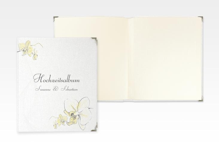 """Hochzeitsalbum """"Modena"""" 21 x 25 cm gelb"""