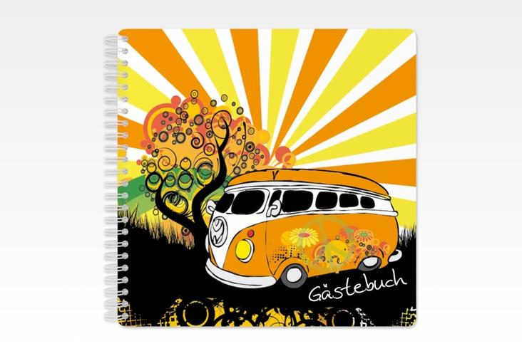 "Gästebuch Geburtstag ""Heiko/Heike"" Ringbindung"