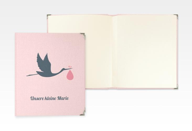 "Baby Fotoalbum ""Einzigartig"" 21 x 25 cm rosa"