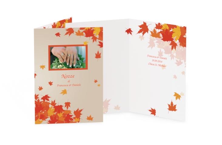 Libro messa matrimonio collezione Prato DIN A5 geklappt