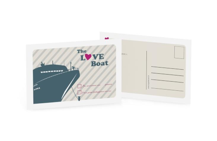 Biglietti risposta matrimonio collezione Maiorca A6 Postkarte