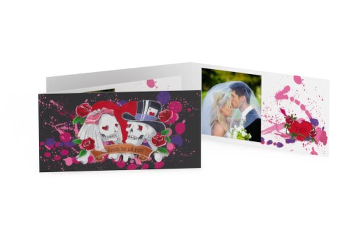 Ringraziamenti matrimonio collezione Palermo DIN lang Klappkarte