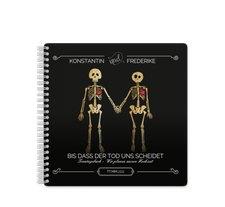"""Trautagebuch Hochzeit """"Bones"""""""