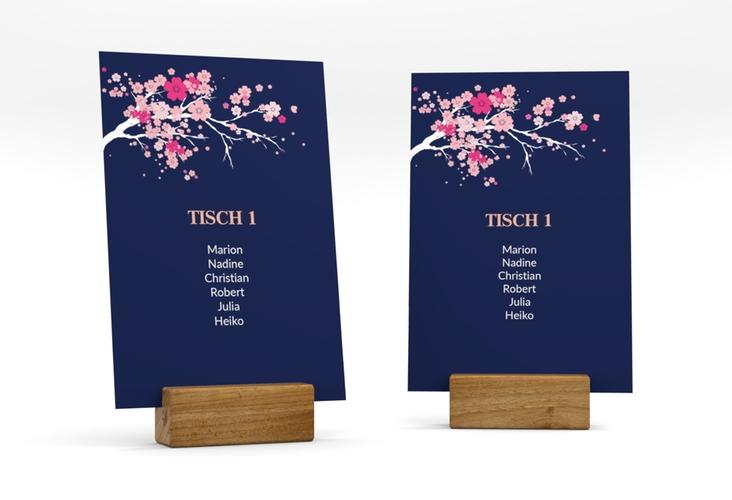 """Tischaufsteller Hochzeit """"Sakura"""" Tischaufsteller"""