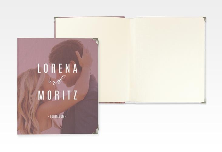 "Hochzeitsalbum ""Memory"" 21 x 25 cm rot"