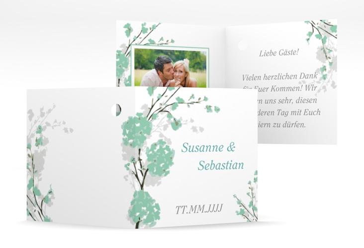 """Geschenkanhänger Hochzeit """"Salerno"""" Geschenkanhänger 10er Set mint"""
