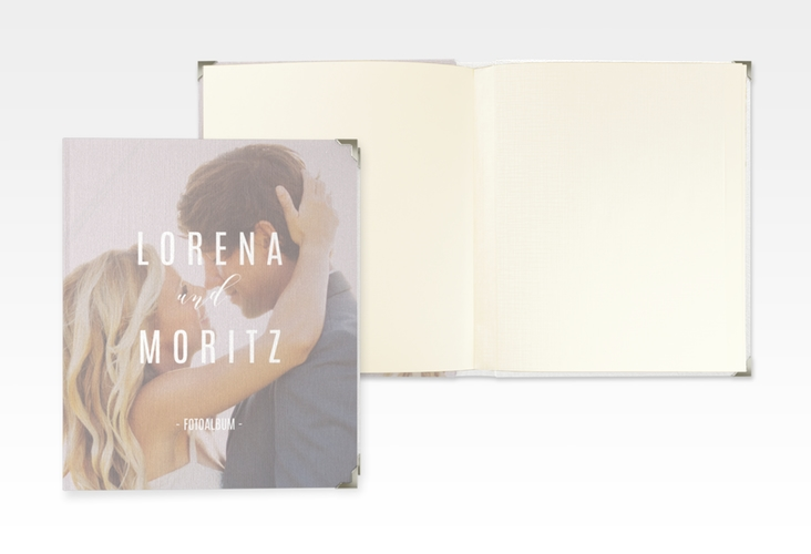 "Hochzeitsalbum ""Memory"" 21 x 25 cm grau"