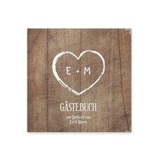 "Gästebuch Selection Hochzeit ""Wood"""