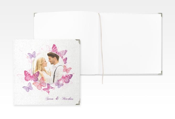 """Gästebuch Selection Hochzeit """"Schmetterlinge"""" Hardcover"""