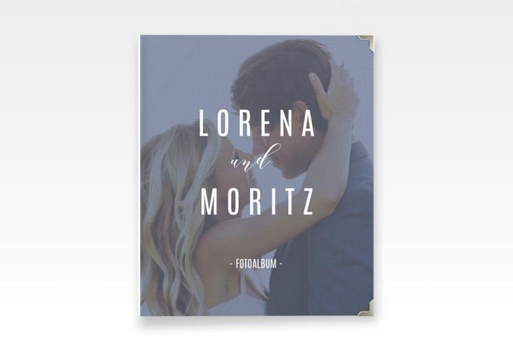 "Hochzeitsalbum ""Memory"" 21 x 25 cm blau"