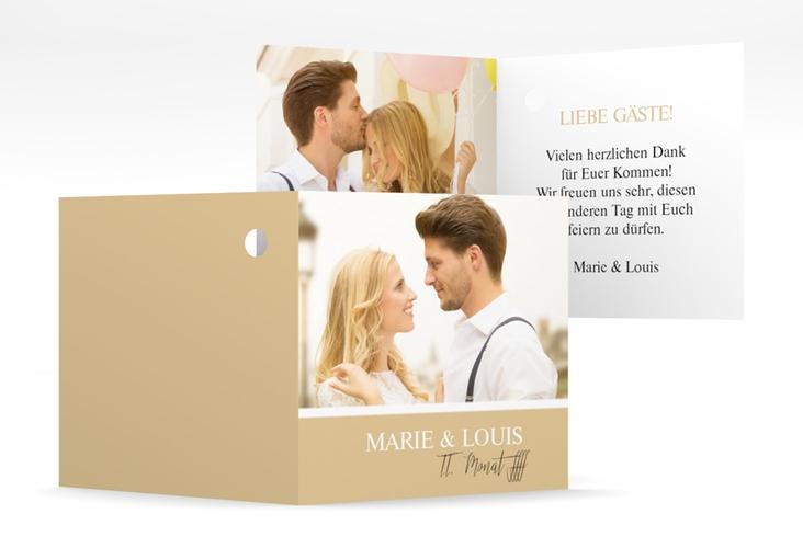 """Geschenkanhänger Hochzeit """"Balance"""" Geschenkanhänger 10er Set beige"""