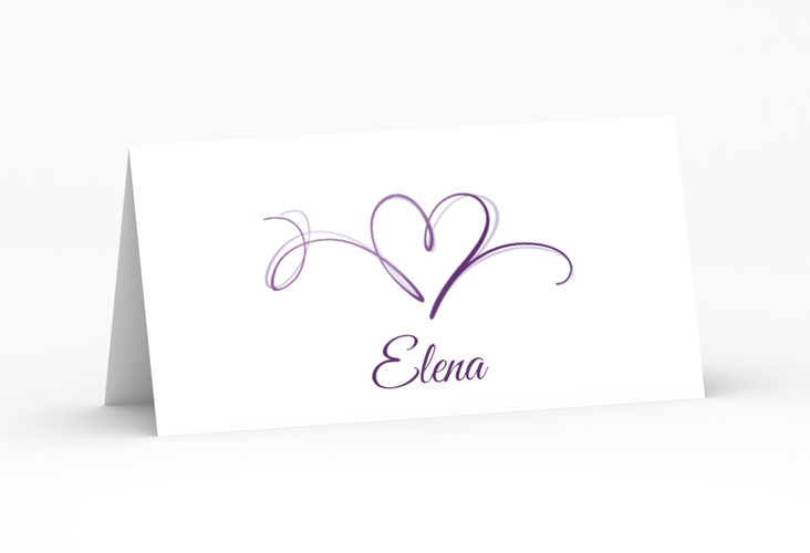 """Tischkarte Hochzeit """"Envie"""" Tischkarten"""