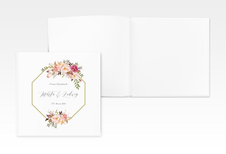 """Gästebuch Creation Hochzeit """"Prachtvoll"""" 20 x 20 cm, Hardcover"""