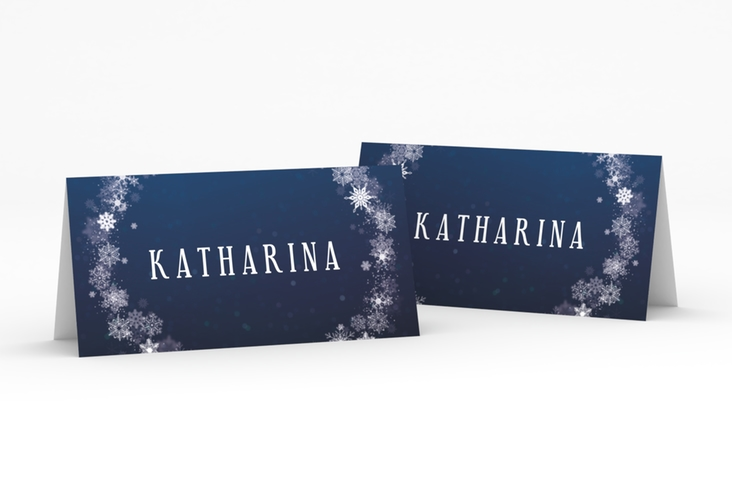 """Tischkarte Hochzeit """"Winterdream"""" Tischkarten"""