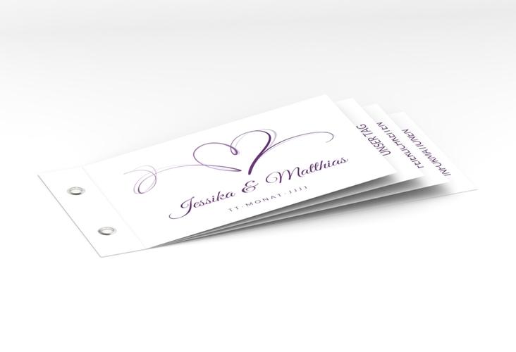 """Hochzeitseinladung """"Envie"""" Booklet"""