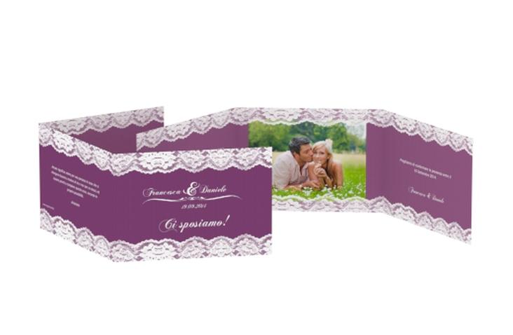 Inviti matrimonio collezione Montreux A6 doppelt geklappt
