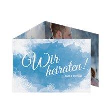 """Hochzeitseinladung """"Frozen"""""""