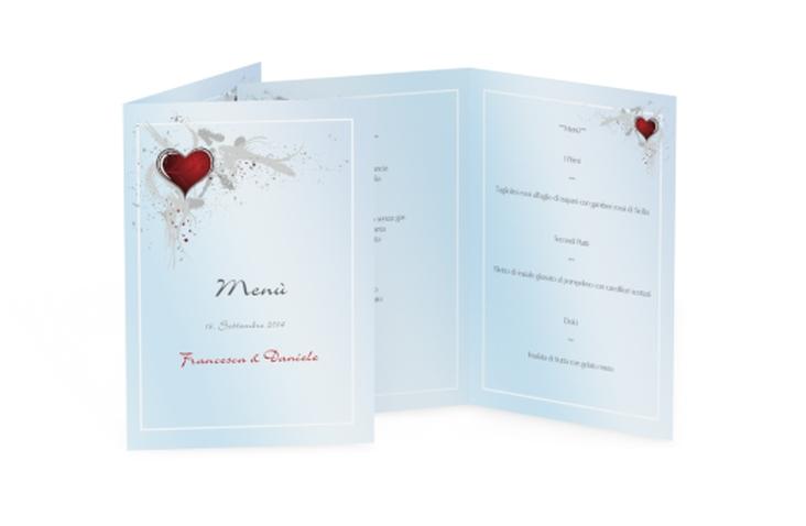 Menù matrimonio collezione Bolzano DIN A5 geklappt