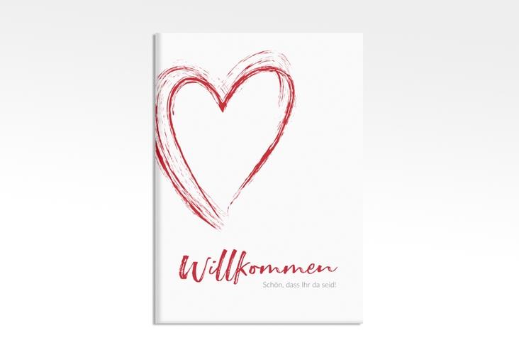 """Willkommensschild Leinwand """"Liebe"""" 50 x 70 cm Leinwand"""