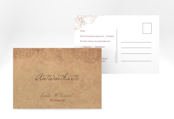 "Antwortkarte Hochzeit ""Fairytale"" A6 Postkarte"