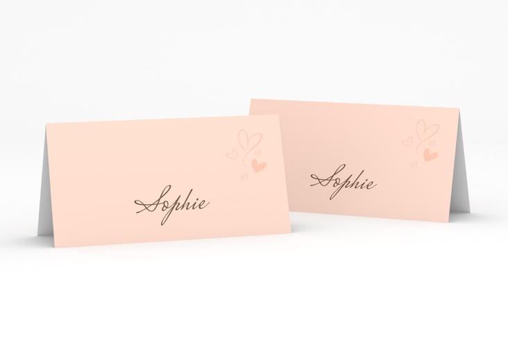 """Tischkarte Hochzeit """"Purity"""" Tischkarten"""