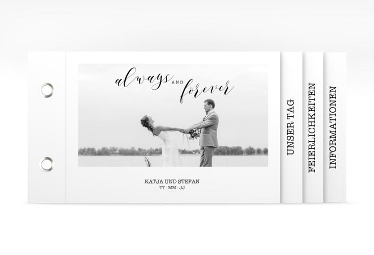 """Hochzeitseinladung """"Photoframe"""" Booklet"""