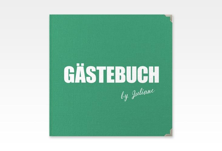 "Gästebuch Selection Geburtstag ""Zig"" Leinen-Hardcover gruen"