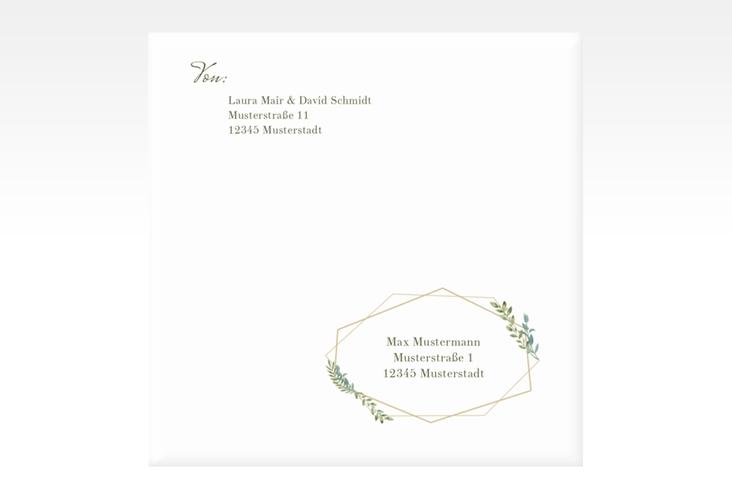 """Kuvert quadratisch """"Herbarium"""" Quadratisch"""