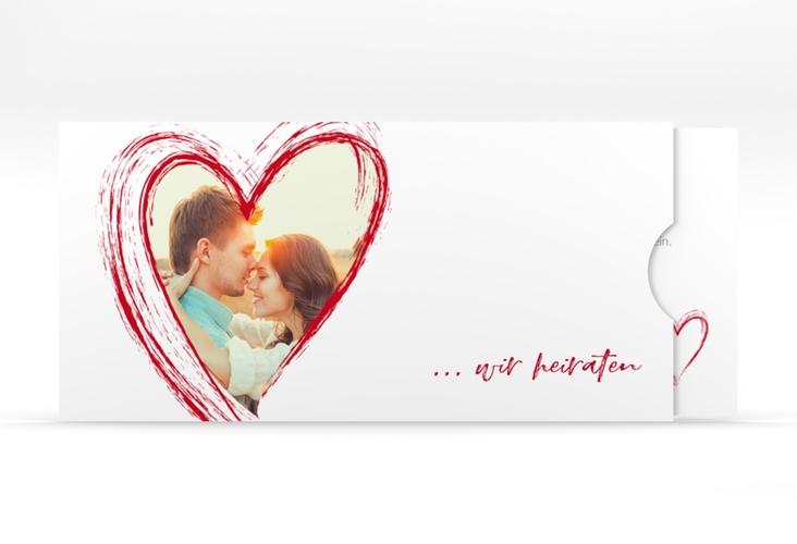 """Hochzeitseinladung """"Liebe"""" Einsteckkarte"""
