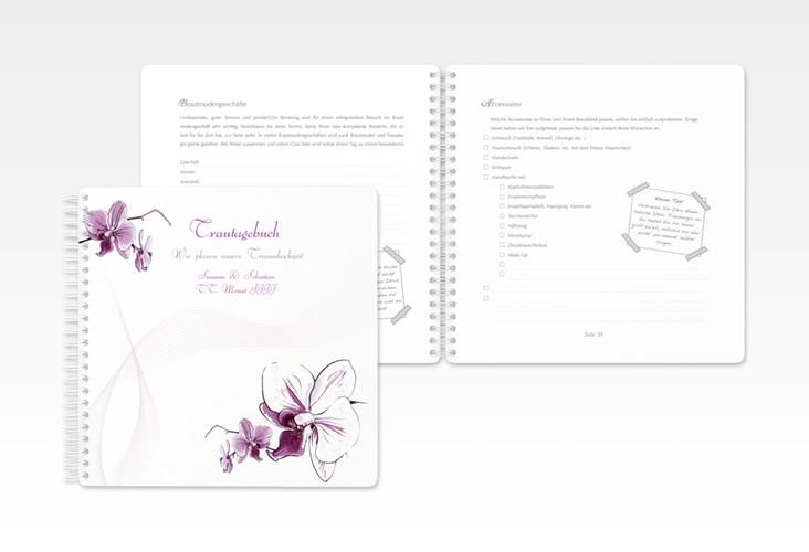 """Trautagebuch Hochzeit """"Modena"""" Trautagebuch Hochzeit weiss"""