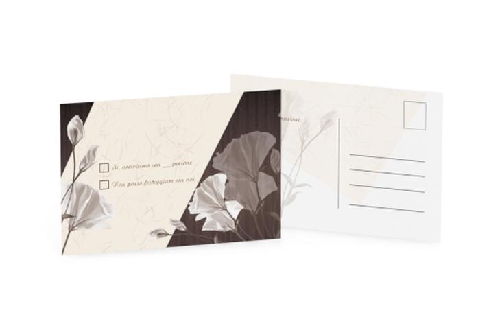 Biglietti risposta matrimonio collezione Barcelona A6 Postkarte