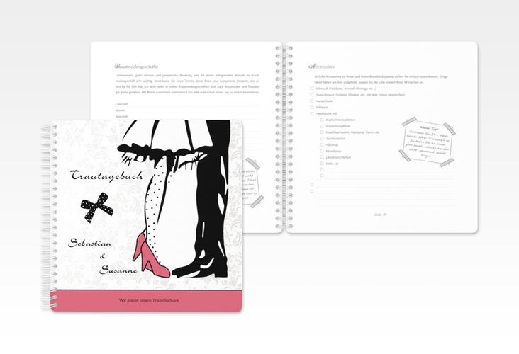 "Trautagebuch Hochzeit ""Straßburg"" Trautagebuch Hochzeit rosa"