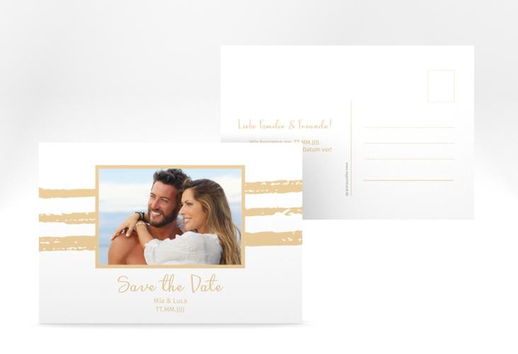 """Save the Date-Postkarte """"Mare"""" A6 Postkarte"""