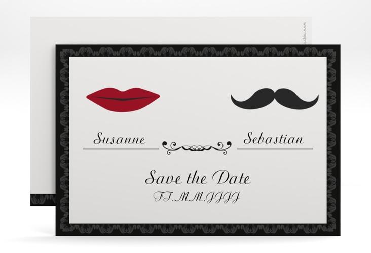 """Save the Date-Karte Hochzeit """"Montpellier"""" A6 quer"""