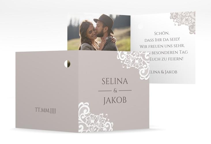 """Geschenkanhänger Hochzeit """"Vintage"""" Geschenkanhänger 10er Set"""