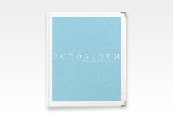 """Hochzeitsalbum """"Simply"""" 21 x 25 cm tuerkis"""