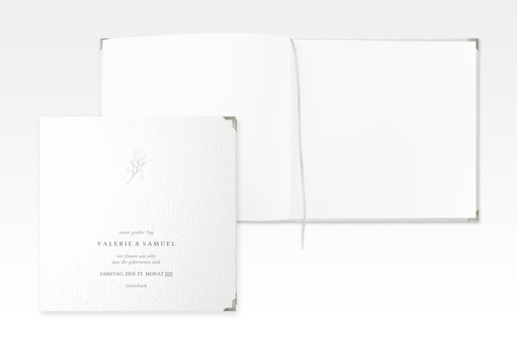 """Gästebuch Selection Hochzeit """"Ivy"""" Leinen-Hardcover"""