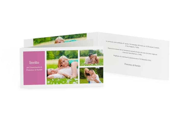 Inviti matrimonio collezione Nizza DIN lang Klappkarte