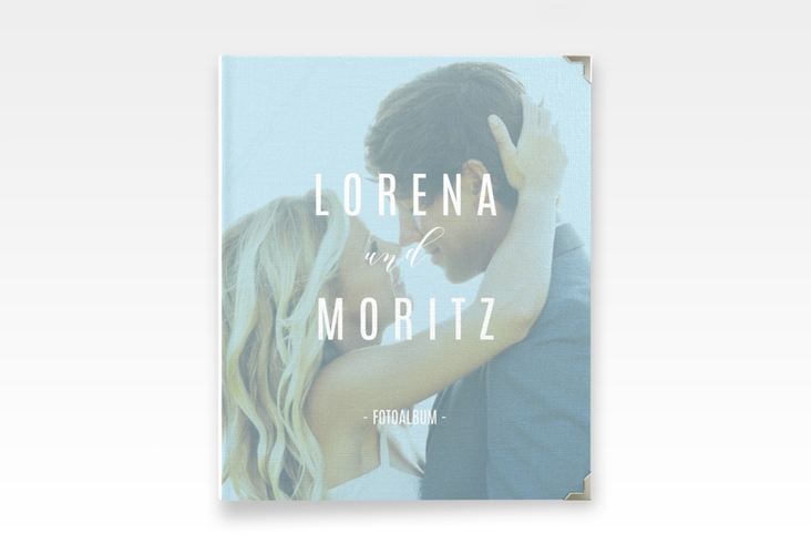 """Hochzeitsalbum """"Memory"""" 21 x 25 cm tuerkis"""