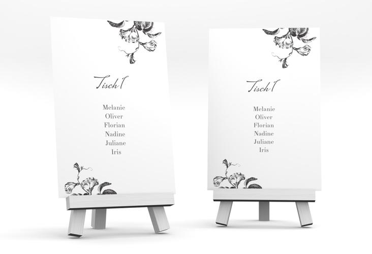 """Tischaufsteller Hochzeit """"Magnificent"""" Tischaufsteller"""