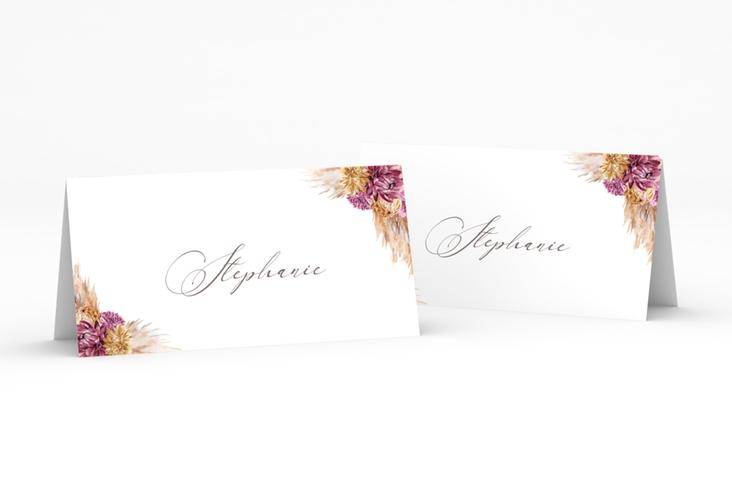 """Tischkarte Hochzeit """"Pampas"""" Tischkarten"""
